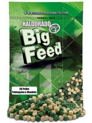 Haldorádó Big Feed - C6 Pellet - Cesnak a Mandle