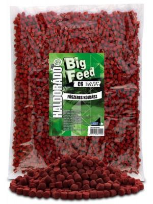 Haldorádó Big Feed - C6 Pellet 2500 g - Korenistá Klobása