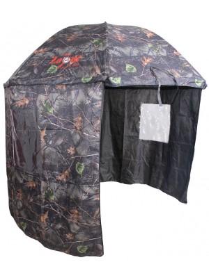 Carp Zoom Dáždnik s bočnicou Camou