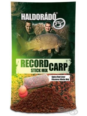 Haldorádó Record Carp Stick Mix - Korenistá Červená Pečeň / Spicy Red Liver