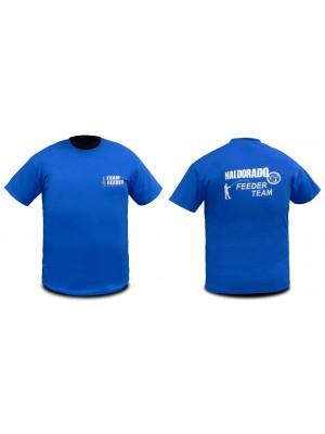 Haldorádó Feeder Team tričko s krátkym rukávom bez goliera 4XL