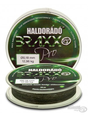 Haldorádó Braxx Pro - pletená nadväzcová šnúrka na feeder 0,18mm / 10m - 12,96 kg
