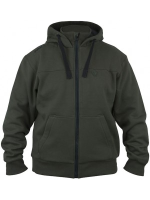 Fox Green & Black Heavy Lined Hoody - M